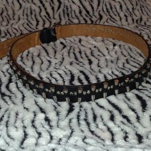 Genuine Leather Belt With 32 Bullets